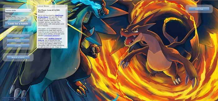 browser games like pokemon showdown