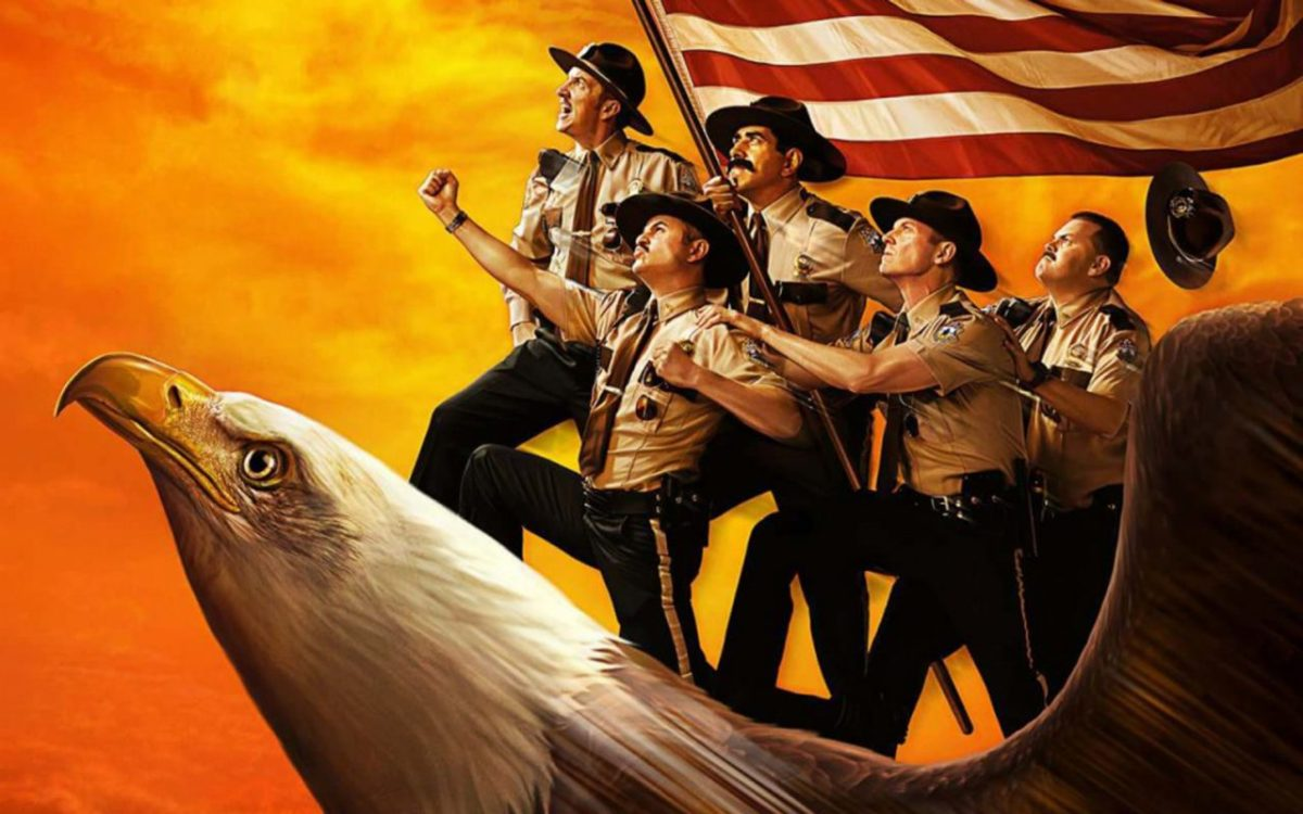 Super Troopers 2, a movie review