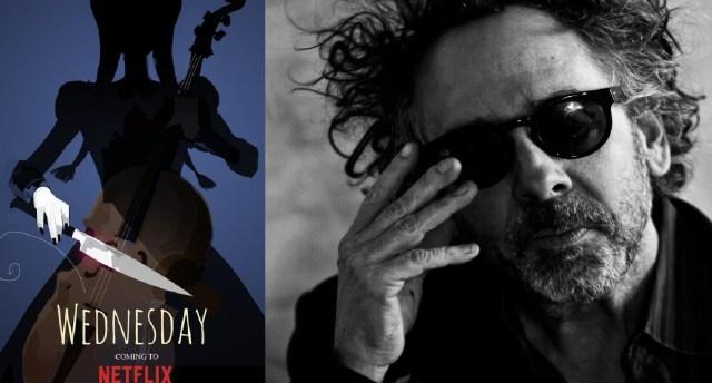 """""""Wednesday Addams"""": La nueva serie de Netflix y Tim Burton"""
