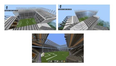 """este joven de Toluca, pues también realizó un estadio inspirado en el de los """"Newcastle"""" Inglaterra"""
