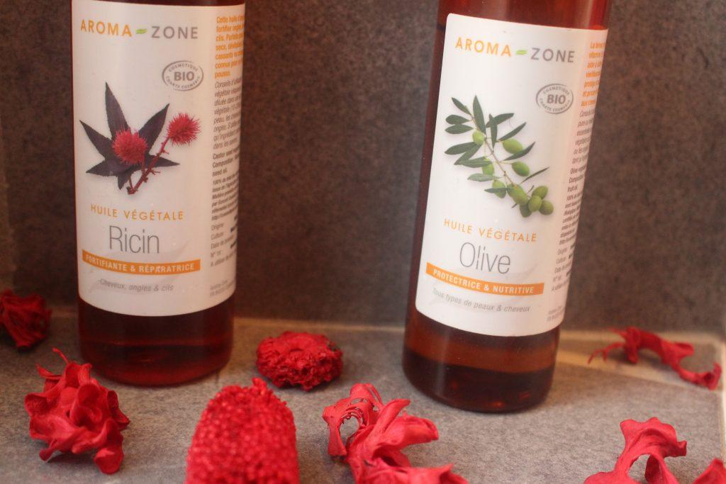 huile ricin olive