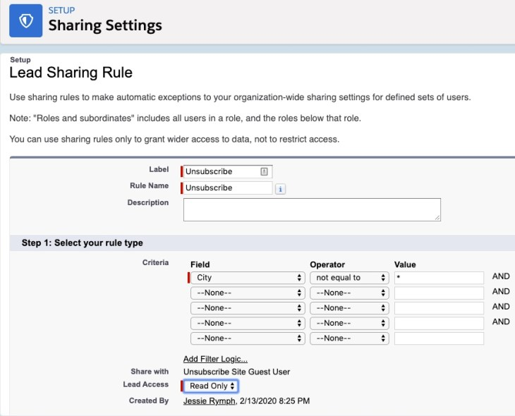 lead sharing