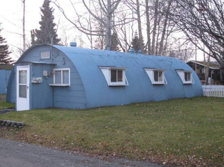 Living In a Quonset Hut: Great Idea for a Tiny House