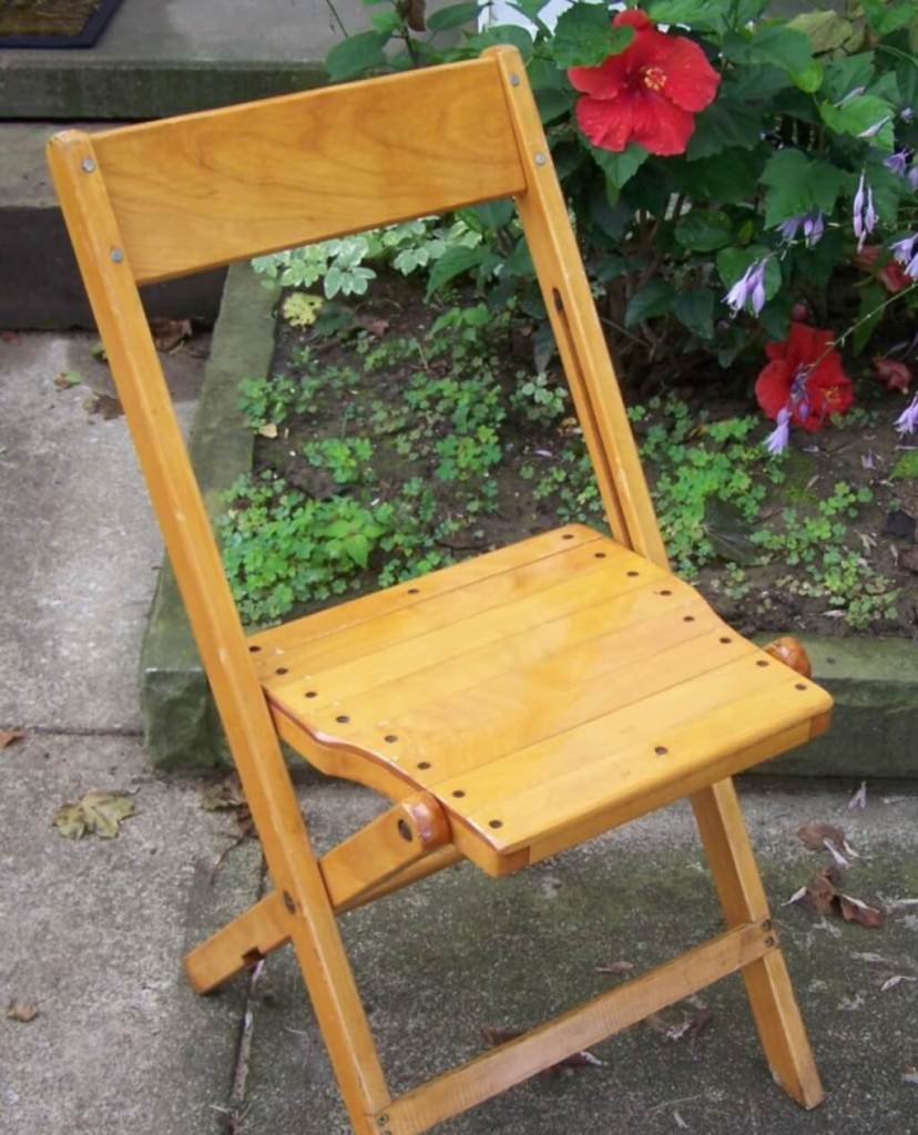 types of chair - folding chair