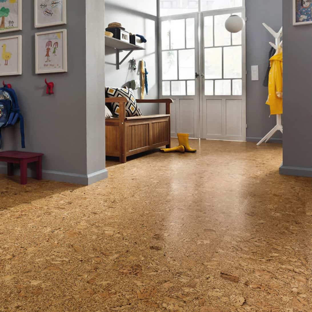 Find Your Edgy Style In Home Designing: Cork Flooring Pros