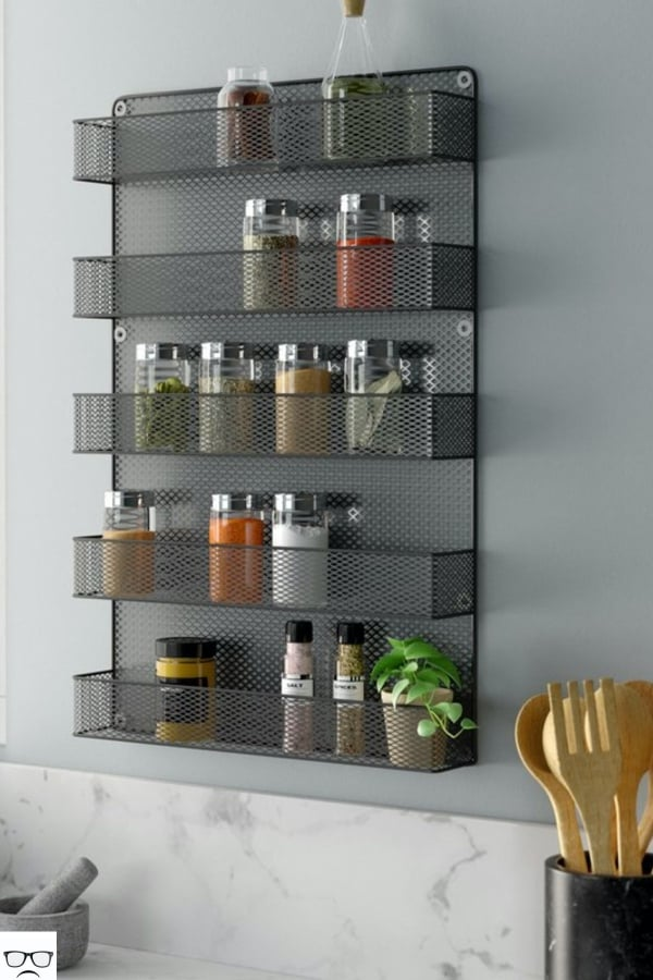 creative spice rack ideas for small kitchen