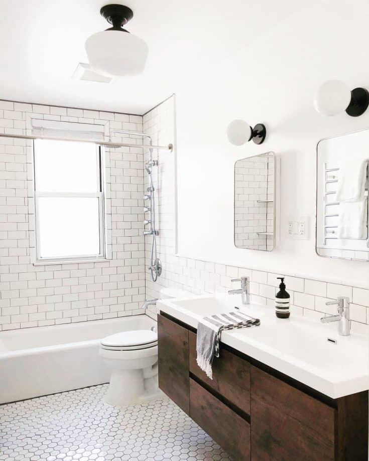 20 Mid-century Modern Bathroom Ideas: Simple but Beautiful