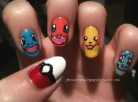 Unhas Decoradas Pokemon