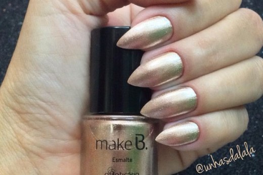 Esmalte Make B - Bronze Diva (O Boticário)