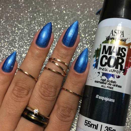 Esmalte Spray Aspa Cosméticos - #aspajeans