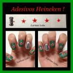 Unhas Decoradas Heineken