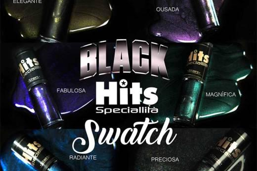 SWATCH: Esmalte Hits Speciallità - Coleção Black Hits Stars