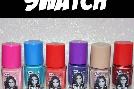 SWATCH: Esmalte Boom Pop Anitta - Press Kit