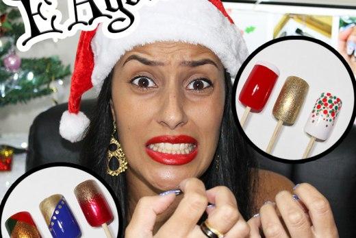 6 Dicas de Unhas Decoradas Rápidas e Fáceis para o Natal