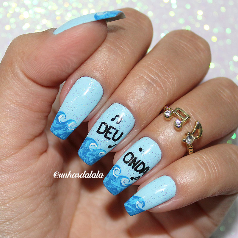 Unhas Decoradas Deu Onda - MC G15