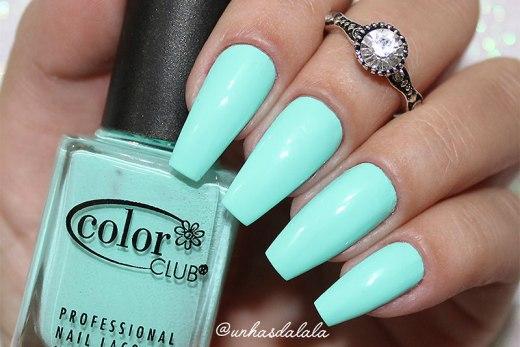 Esmalte Color Club Blue Ming