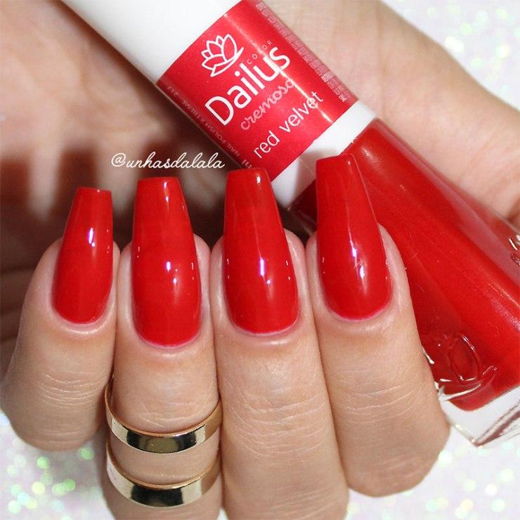 Esmalte Dailus Red Velvet