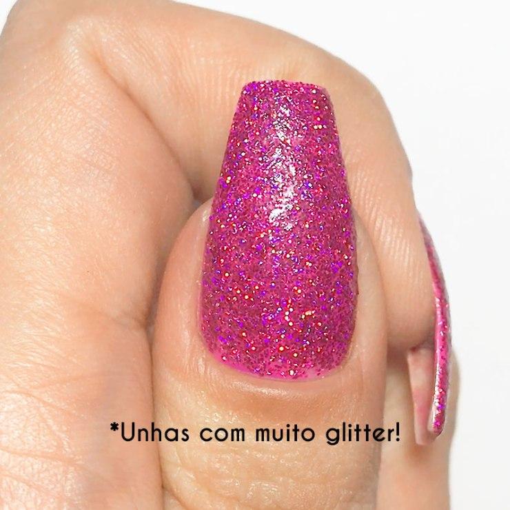 Dica Super Fácil de Como Tirar Glitter da Unha