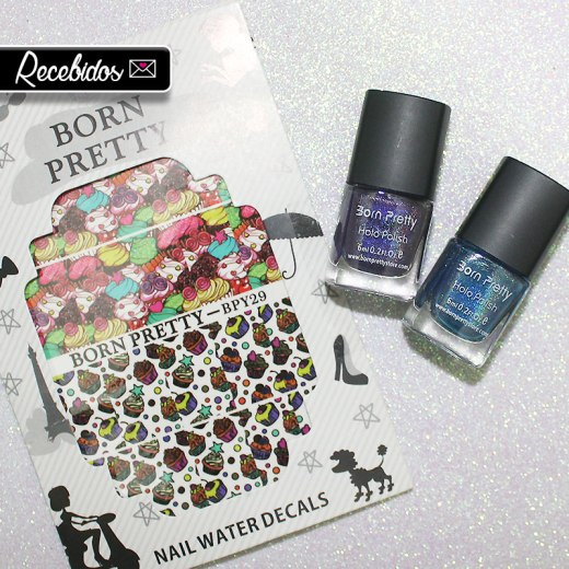 recebidos born pretty store