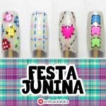 4 DICAS DE UNHAS DECORADAS FÁCEIS PARA FESTA JUNINA