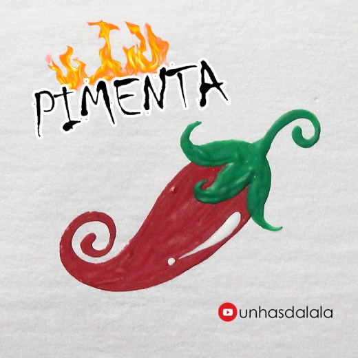 como desenhar pimenta