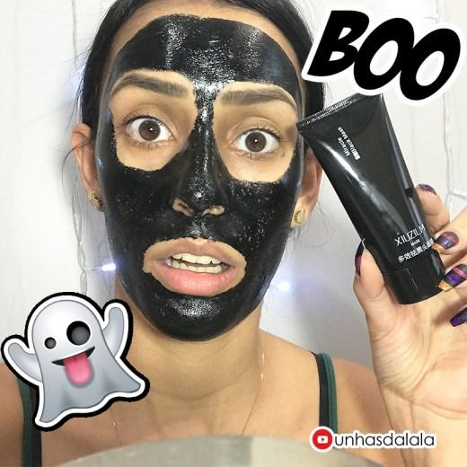 Máscara Preta para Remover Cravos