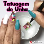 Tatuagem de Unha – Nail Water Decal da Born Pretty Store