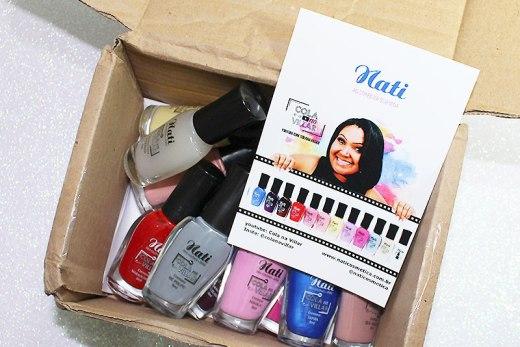 recebidos nati cosmética coleção cola na villar