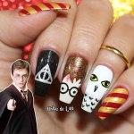 Unhas Decoradas Harry Potter