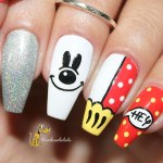 Unhas Decoradas Mickey Mouse