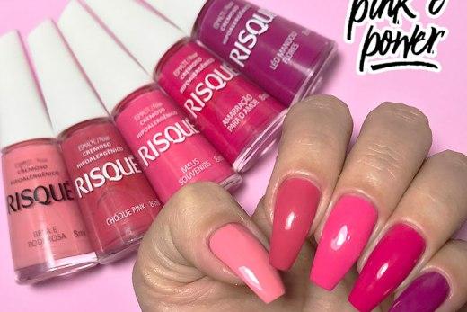 swatch risqué coleção ser pink é power