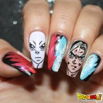 Unhas Decoradas Dragon Ball Super – Goku VS Jiren