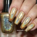 Esmalte Dourado Holográfico Whatcha Alakazam
