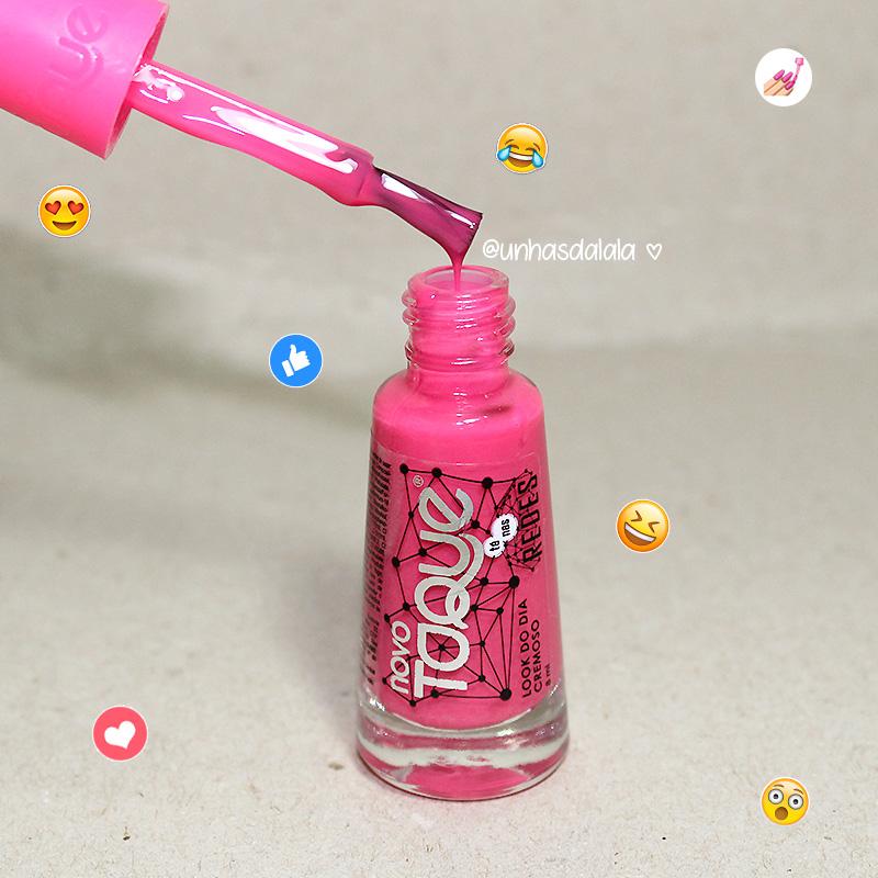recebidos novo toque tá nas redes, novo toque, esmalte novo toque, recebidos novo toque, coleção tá nas redes novo toque, tá nas redes novo toque, novo toque, esmalte rosa pink
