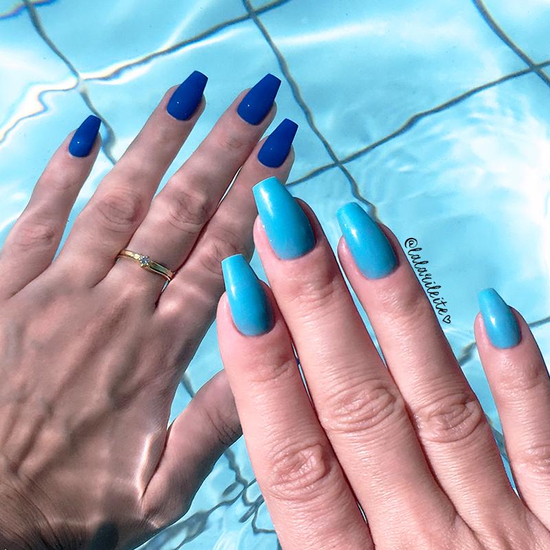 esmalte térmico, esmalte que muda de cor, esmalte azul, azul, esmalte de gel, esmalte em gel, esmalte importado, esmalte gringo, esmalte de gel que muda de cor, newchic, testando, unhas da lala, lala, larissa leite, blog unhas, blog moda, blog