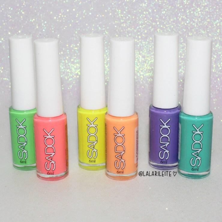 recebidos sadok neon, esmaltes sadok, sadok neon, esmalte neon, esmalte laranja, esmalte laranja neon, esmalte amarelo, esmalte amarelo neon, esmalte roxo, esmalte roxo neon,esmalte rosa, esmalte rosa neon, esmalte verde, esmalte verde neon, speciallita sadok, hits sadok, neon nails, nail polish, recebidos, larissa leite, unhas da lala, lala, blog de unhas, blog novidades, blog estilo
