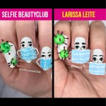 UNHAS DO INSTAGRAM – UNHAS CORONAVÍRUS (CORONAVIRUS NAILS)