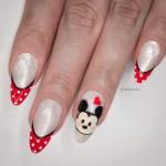 Unhas Decoradas Mickey + Francesinha