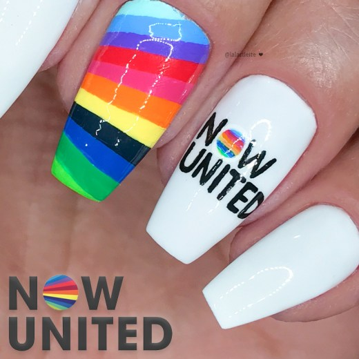 unhas now united, uniters, uniters brasil, now united, now united nails, tema now united, larissa leite, tiktok larissa leite, larissa leite unhas, youtube larissa leite