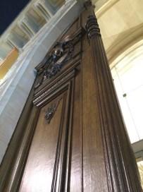 A really, really tall door
