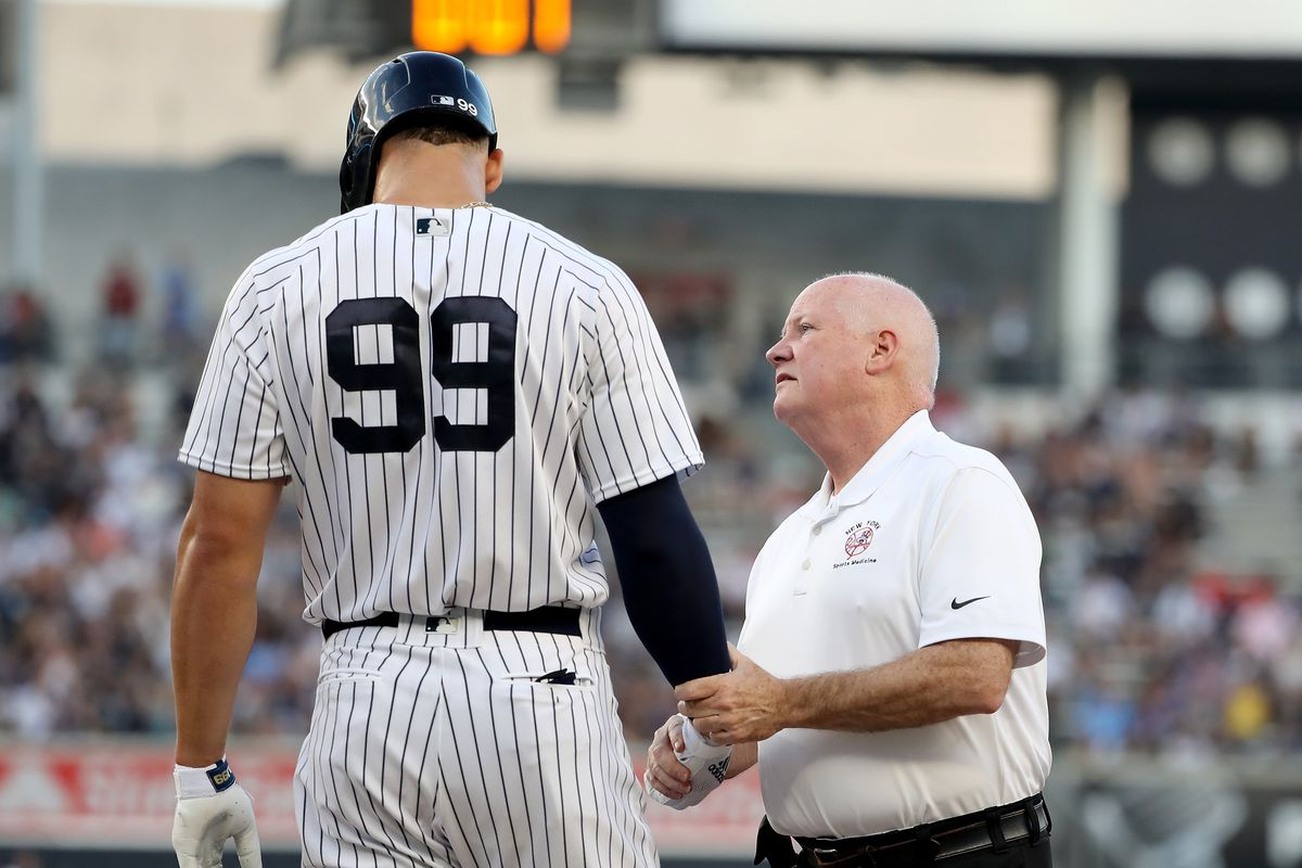 Would Aaron Judge's history give the Yankees' pause about getting an extension?