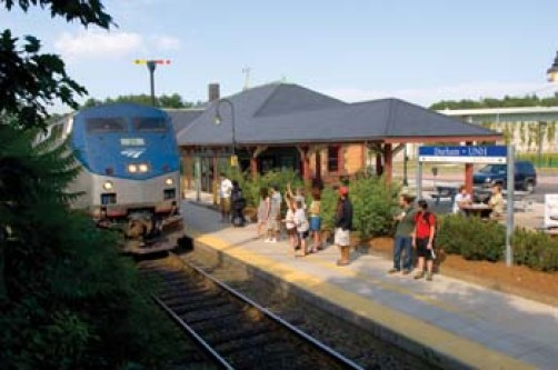 Image result for unh train station