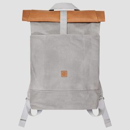 Ucon-Acrobatics-Tasche-Rucksack-Backpack-Canvas-Leder-Grau-Braun-2