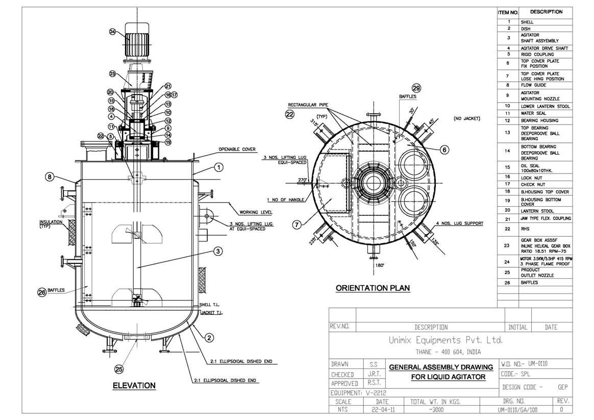 Unimix Equipment Liquid Mixers