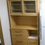 彼母にニトリの食器棚をいただきました。ソファーも購入!