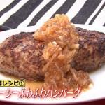 家事えもんかけ算レシピ!高野豆腐×新玉ねぎハンバーグ【得する人損する人】