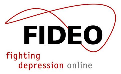 Logo von Fideo, depression online