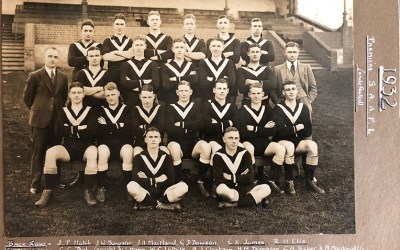 1932 Mens A1 and Intervarsity Premiers