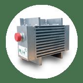 Druckluftkühler- für Tankwagenkompressor