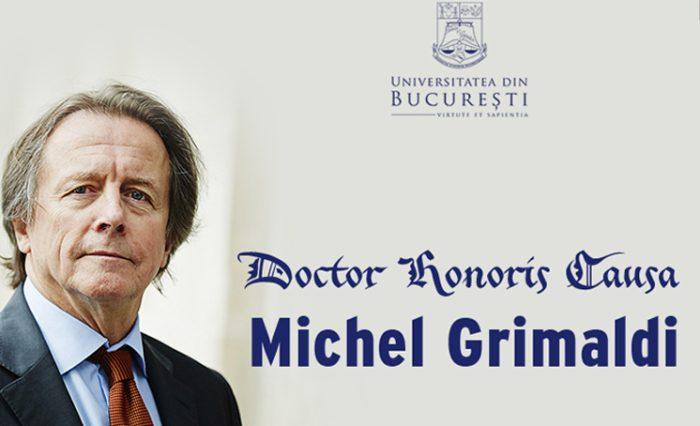 știre Michel Grimaldi site nou